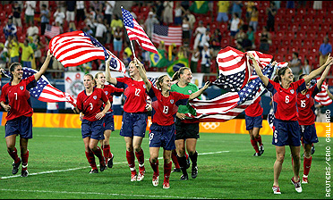 U.S. women soccer team