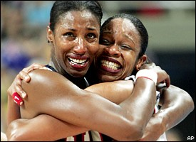 Lisa Leslie, Tina Thompson