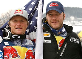 Daron Rahlves and Bode Miller