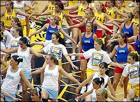 Cheerleading camp