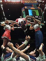 Syracuse cheerleading squad