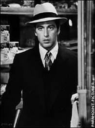M. Corleone sale del armario