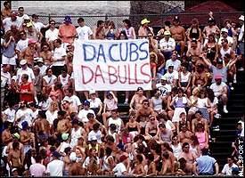 Wrigley fans