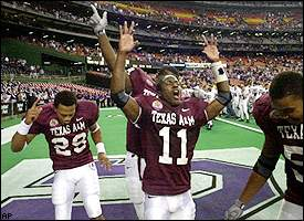A&M players
