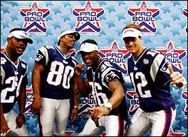 Ty Law, Troy Brown Lawyer Milloy, Tom Brady