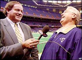 Chris Berman, Mike Martz