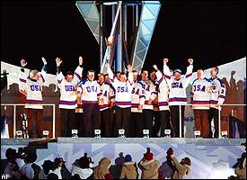 1980 U.S. Olympic Hockey Team