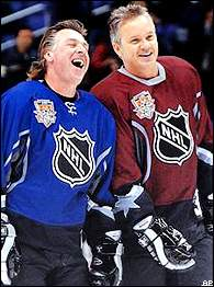 Barry Melrose, Tim Robbins