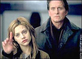 Brittany Murphy, Michael Douglas