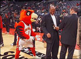 Atlanta Hawk, Charles Barkley