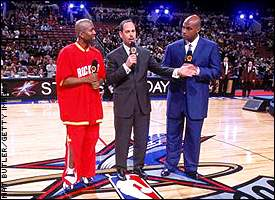 Ernie Johnson, Kenny Smith, Charles Barkley
