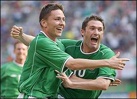 Matt Holland, Robbie Keane