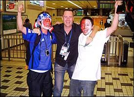 Michael Davies, Japanese fans