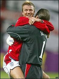 David Beckham, David Seaman