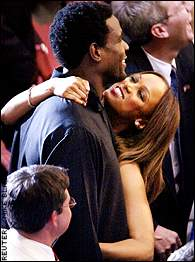 Chris Webber, Tyra Banks