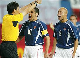 Lu Jun, Claudio Reyna, Earnie Stewart