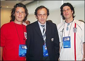 George, Michel Platini, Dom