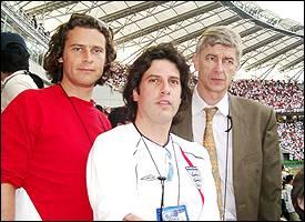 George, Dom, Arsene Wenger