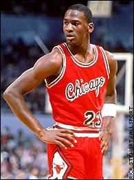 MJ w BULLS