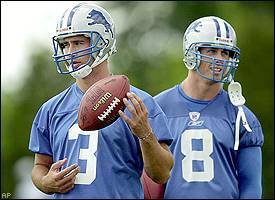 Joey Harrington, Mike McMahon