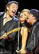 Bruce Springsteen, Patti Scialfa, Steve Van Zandt