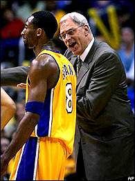 Kobe Bryant and Phil Jackson