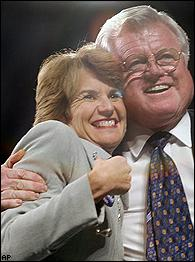 Kathleen Kennedy Townsend, Ted Kennedy