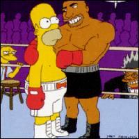 Dedrick Tatum, Homer Simpson