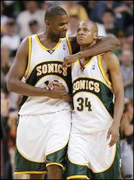 Jerome James, Ray Allen
