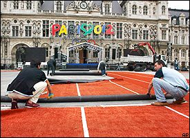 Paris red carpet