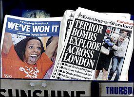 London tabloids