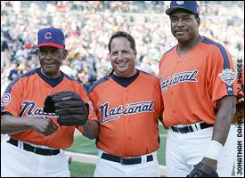 Jon Lovitz, Ernie Banks, Dave Winfield