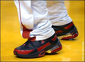 Shaquille O'Neal's shoes