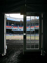 Tiger Stadium infield