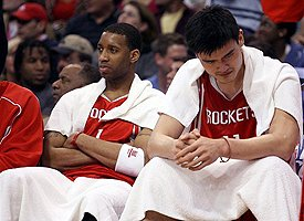 Yao Ming and Tracy McGrady