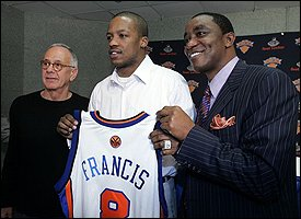 Larry Brown, Steve Francis & Isiah Thomas