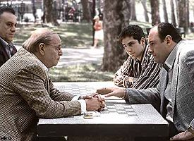 Scene from The Sopranos