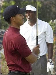 Tiger Woods and Vijay Singh