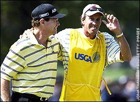 Tom Watson and Bruce Edwards