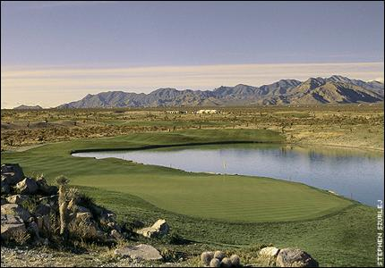 Paiute Resort 16th hole