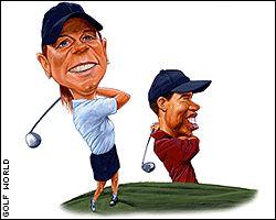 Annika Sorenstam, Tiger Woods