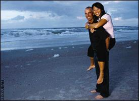 Pavin married Lisa Nguyen in January 2003 and credits her for helping ground his life.