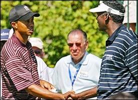Tiger Woods, Vijay Singh