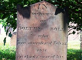 Baltus Roll tombstone