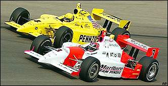 Hornish and Castroneves