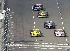 Hornish, Castroneves