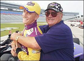 Anthony and A.J. Foyt
