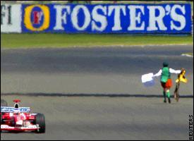 British Grand Prix demonstrator