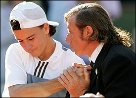 Guillermo Coria and Guillermo Vilas