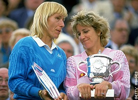 Martina Navratilova/Chris Evert